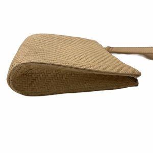 Talbots Bags - Talbots Straw Zipper Wristlet Tropical Drink
